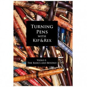 DVD Turning Pens (English)  The Basics & Beyond (ca. 65 min)