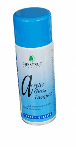 CHESTNUT Acryl Hochglanz Lack Spray 400 ml