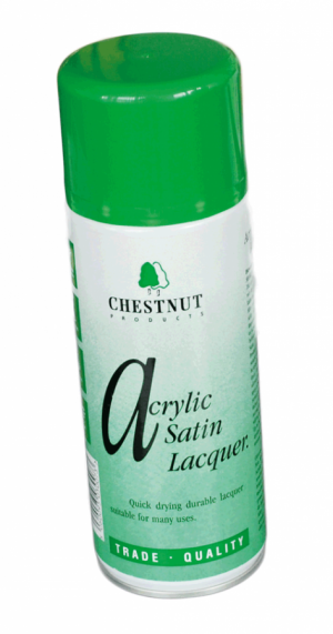 CHESTNUT Acryl Satinglanz Lack Spray