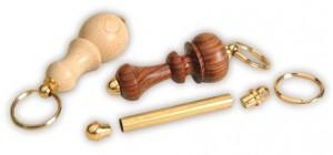 Schlüsselanhänger vergoldet (5 Stk.)