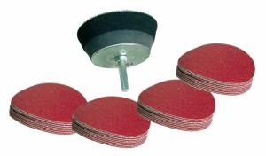 Klett-Schleifteller-SET 50 mm