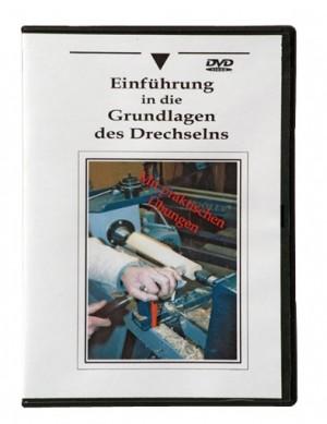"""DVD """"Einführung in die Grundlagen des Drechselns"""" (ca. 60 min)"""
