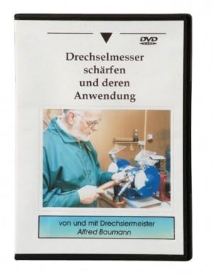 """DVD """"Drechselmesser schärfen und deren Anwendung"""" (ca. 70 min)"""
