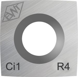Ersatzschneide eckig 15 mm - leichter Radius