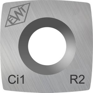 Ersatzschneide eckig 15mm - mit stärkerem Radius