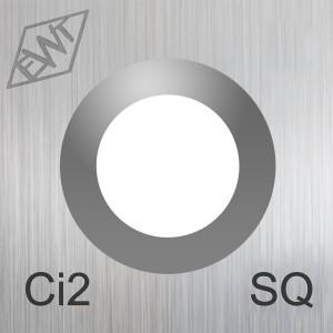 Ersatzschneide eckig 10 mm Ci2-SQ / Karbid