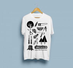 """T-Shirt """"Drechseln"""""""