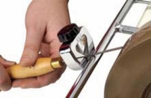 Vorrichtung für Schnitzwerkzeuge